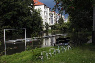 Hochwasser: Leider fällt das Rudern gerade aus