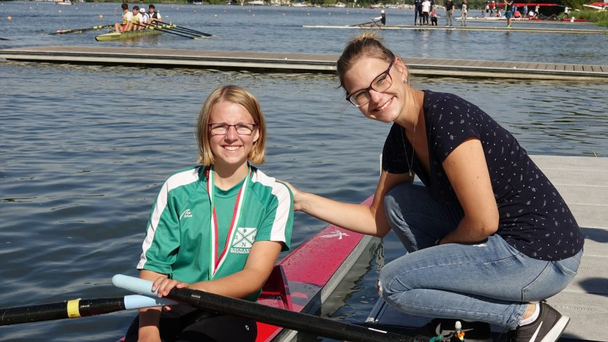 Medaillen- und Proseccoregen in Werder 2018